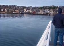 Arriving in Lerwick