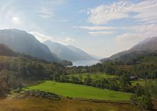 Loch Shiel from the train