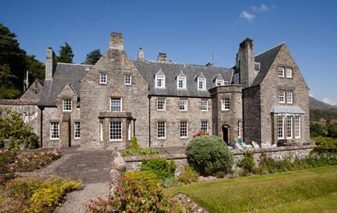 Hiking and accommodation in Arisaig House