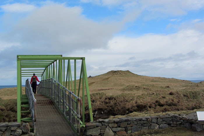 Bridge to Dùn Èistean, Isle of lewis