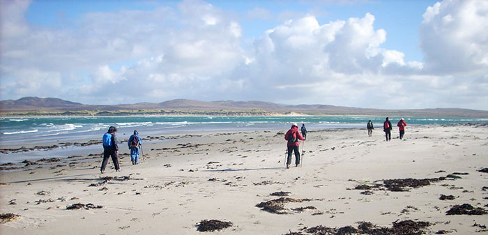 Walking at Ardnave, Isle of Islay