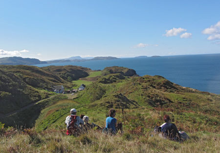 Lunch break on the Isle of Kerrera