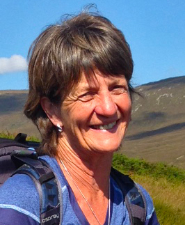 Lesley Bryce, guide About Argyll Walking Holidays