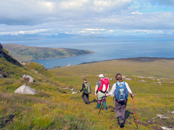 Hiking on Rum, Small Isles